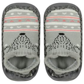 Детские носки с антискользящей подошвой  Лиса оптом (код товара: 44489): купить в Berni
