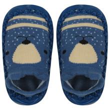 Детские носки с антискользящей подошвой  Медведь (код товара: 44487)
