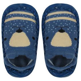 Детские носки с антискользящей подошвой  Медведь (код товара: 44487): купить в Berni