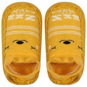 Детские носки с антискользящей подошвой  Медведь (код товара: 44488): купить в Berni