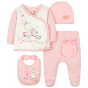 Комплект 10 в 1 для новорожденной девочки (код товара: 44422): купить в Berni