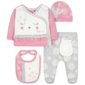 Комплект 10 в 1 для новорожденной девочки оптом (код товара: 44423): купить в Berni