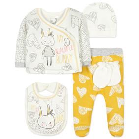 Комплект 5 в 1 для новорожденной девочки (код товара: 44408): купить в Berni