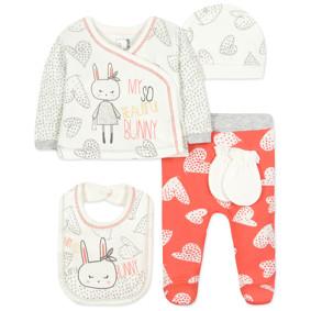 Комплект 5 в 1 для новорожденной девочки (код товара: 44409): купить в Berni