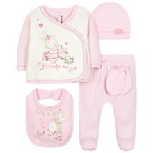 Комплект 5 в 1 для новорожденной девочки (код товара: 44410)