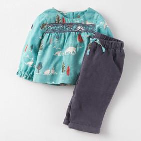 Костюм 2 в 1 для девочки Арктика оптом (код товара: 44436): купить в Berni