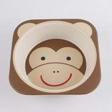 Набор посуды из бамбукового волокна Обезьяна (код товара: 44455)