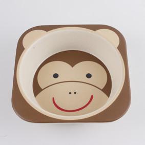 Набор посуды из бамбукового волокна Обезьяна (код товара: 44455): купить в Berni