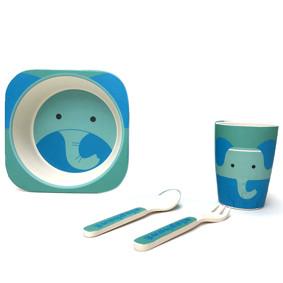 Набор посуды из бамбукового волокна Слон (код товара: 44454): купить в Berni