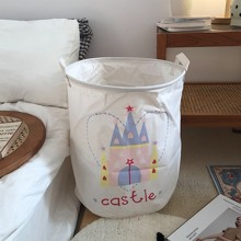 Кошик для іграшок, білизни, зберігання Замок (код товара: 44511)