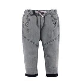 Джинсы утепленные для мальчика Серый оптом (код товара: 44680): купить в Berni