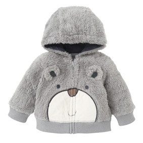 Кофта Тедди, серый (код товара: 44675): купить в Berni