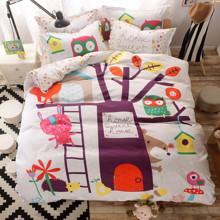 Комплект постельного белья Дерево (полуторный) (код товара: 44661)