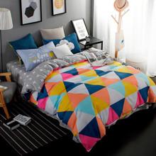 Комплект постельного белья Треугольники (полуторный) (код товара: 44606)