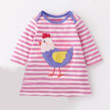 Платье для девочки Курочка (код товара: 44653)