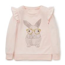 Свитшот для девочки Кролик (код товара: 44643)