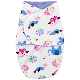 Флисовая пеленка - кокон на липучках оптом (код товара: 44786): купить в Berni