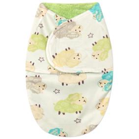 Флисовая пеленка - кокон на липучках (код товара: 44791): купить в Berni