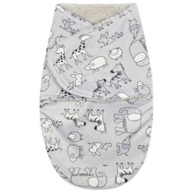 Флисовая пеленка - кокон на липучках (код товара: 44792): купить в Berni