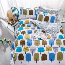 Комплект постельного белья Сказочный лес (двуспальный-евро) (код товара: 44752)