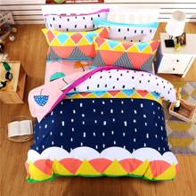 Комплект постельного белья Зонт (двуспальный-евро) (код товара: 44737)