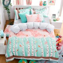 Комплект постельного белья Березы (полуторный) (код товара: 44829)