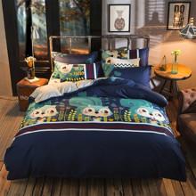 Комплект постельного белья Бурундук (двуспальный-евро) (код товара: 44820)