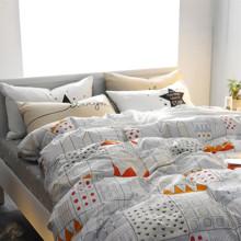 Комплект постельного белья Город (двуспальный-евро) (код товара: 44854)
