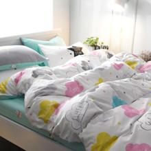 Комплект постельного белья Сладкая любовь (двуспальный-евро) (код товара: 44844)