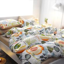 Комплект постельного белья Травы (двуспальный-евро) (код товара: 44855)