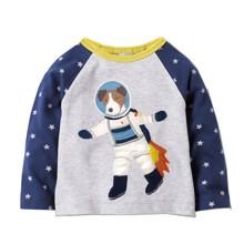 Лонгслів для хлопчика Пес космонавт (код товара: 44869)