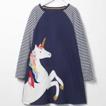 Платье для девочки Единорог (код товара: 44860)