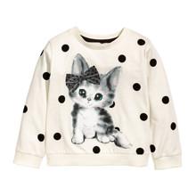 Свитшот для девочки Кошка (код товара: 44803)