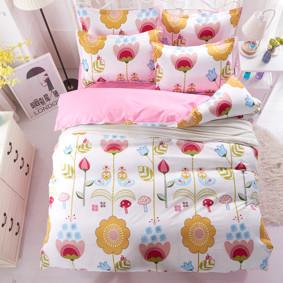 Уценка (дефекты)! Комплект постельного белья Цветы (полуторный) (код товара: 44883): купить в Berni