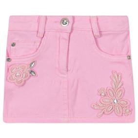 Джинсовая юбка для девочки (код товара: 44905): купить в Berni