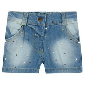 Джинсовые шорты для девочки оптом (код товара: 44901): купить в Berni