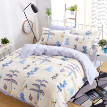 Комплект постельного белья Беличий лес (двуспальный-евро) (код товара: 44930)
