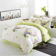 Комплект постельного белья Цветочный олень (полуторный) (код товара: 44937)