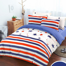 Комплект постельного белья Звездный флаг (полуторный) (код товара: 44968)