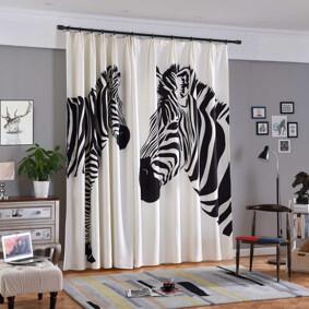 Штора Zebra 135 х 265 2 шт. (код товара: 44947): купить в Berni