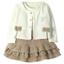 Велюровый костюм 3 в 1 для девочки Estella (код товара: 4523)