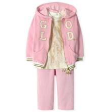 Велюровый костюм 3 в 1 для девочки Estella (код товара: 4525)