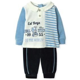 Велюровый Костюм для мальчика Estella (код товара: 4533): купить в Berni