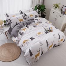 Комплект постельного белья Олень (двуспальный-евро) (код товара: 45050)