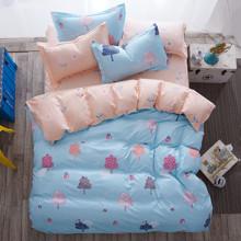Комплект постельного белья Прекрасный лес (двуспальный-евро) (код товара: 45018)