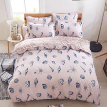 Комплект постельного белья Ракушки (двуспальный-евро) (код товара: 45026)