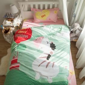 Комплект постельного белья С днем рождения, Зебра! (полуторный) (код товара: 45066): купить в Berni
