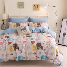 Комплект постельного белья Сафари (двуспальный-евро) (код товара: 45034)