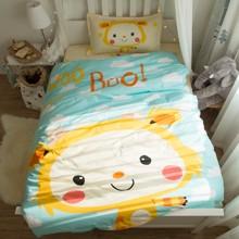 Комплект постельного белья Тигренок (полуторный) (код товара: 45067)