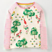 Лонгслив для девочки Сад (код товара: 45098)